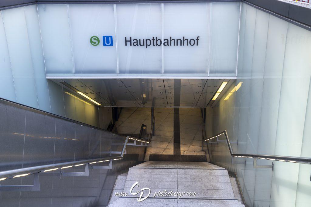 Unterführung am Hauptbahnhof