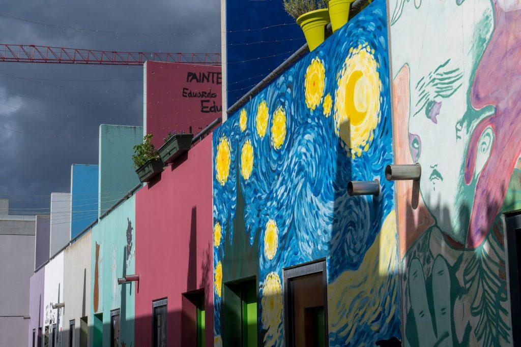 Olympiadorf | Van Gogh-Motiv